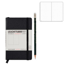 Leuchtturm1917 Pocket Notebook Black