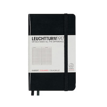 Leuchtturm1917 Hardcover Notebook Pocket Black