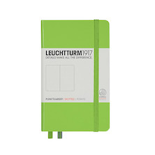 Leuchtturm1917 Hardcover Notebook Pocket Lime