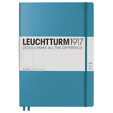 Leuchtturm1917 Hardcover Notebook Master Slim Nordic Blue
