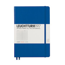 Leuchtturm1917 Hardcover Notebook Medium Royal Blue