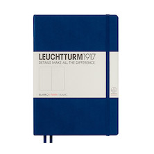 Leuchtturm1917 Hardcover Notebook Medium Navy