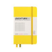 Leuchtturm1917 Hardcover Notebook Pocket Lemon