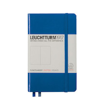 Leuchtturm1917 Hardcover Notebook Pocket Royal Blue