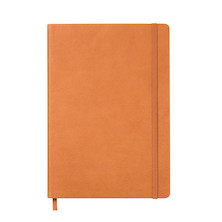 Leuchtturm1917 Leather Notebook Medium Cognac