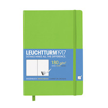 Leuchtturm1917 Sketchbook Medium Lime