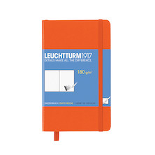 Leuchtturm1917 Sketchbook Pocket Orange