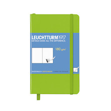 Leuchtturm1917 Sketchbook Pocket Lime