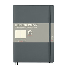 Leuchtturm1917 Softcover Notebook B5 Anthracite