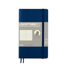 Leuchtturm1917 Softcover Notebook Pocket Navy