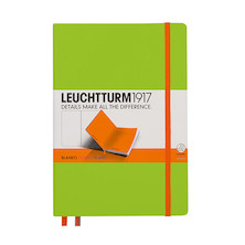 Leuchtturm1917 Hardcover Notebook Medium BiColore Lime-Orange