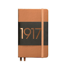 Leuchtturm1917 Hardcover Notebook Pocket 1917 Metallic Edition Copper