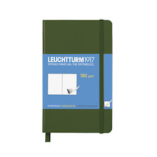 Leuchtturm1917 Sketchbook Pocket Army