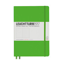 Leuchtturm1917 Hardcover Notebook Medium Fresh Green