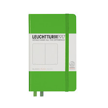 Leuchtturm1917 Hardcover Notebook Pocket Fresh Green