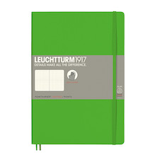 Leuchtturm1917 Softcover Notebook B5 Fresh Green