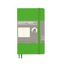 Leuchtturm1917 Softcover Notebook Pocket Fresh Green