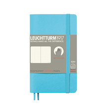 Leuchtturm1917 Softcover Notebook Pocket Ice Blue