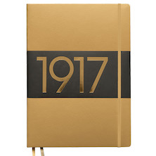 Leuchtturm1917 Hardcover Notebook Master Slim Gold