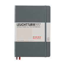 Leuchtturm1917 Hardcover Notebook Medium Red Dot Edition