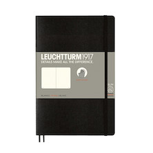 Leuchtturm1917 Softcover Notebook B6+ Black
