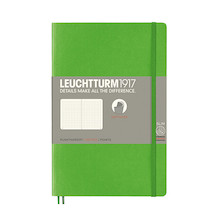 Leuchtturm1917 Softcover Notebook B6+ Fresh Green