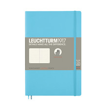 Leuchtturm1917 Softcover Notebook B6+ Ice Blue