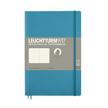 Leuchtturm1917 Softcover Notebook B6+ Nordic Blue