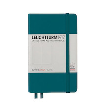 Leuchtturm1917 Hardcover Notebook Pocket Pacific Green