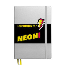Leuchtturm1917 Hardcover Notebook Neon Yellow Dotted
