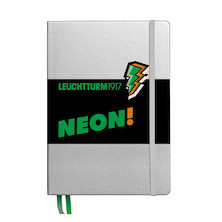 Leuchtturm1917 Hardcover Notebook Neon Green Dotted