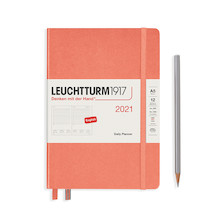 Leuchtturm1917 Daily Planner 2021 Medium Bellini