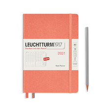 Leuchtturm1917 Week Planner 2021 Medium Bellini