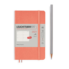 Leuchtturm1917 Weekly Planner 2021 Softcover Pocket Bellini
