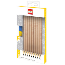 LEGO Graphite Pencils Set of 9