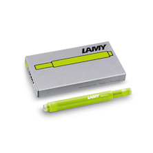 Lamy T10 Ink Cartridges Neon Lime