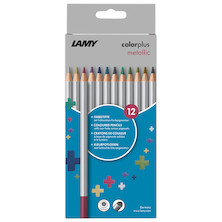 Lamy Colorplus Pencil Set of 12 Metallic Assorted