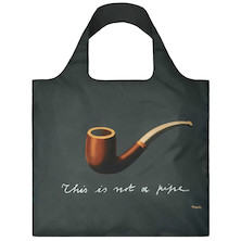 LOQI Shopping Bag The Treachery of Images - Magritte