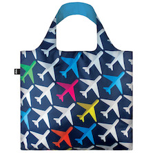 LOQI Shopping Bag Airplane