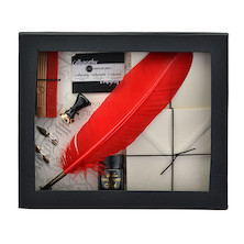 Manuscript Art of Writing Quill Correspondence Gift Set