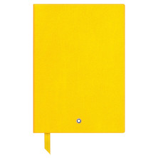 Montblanc Fine Stationery Notebook Yellow Lined