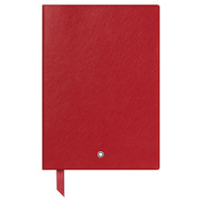 Montblanc Fine Stationery Notebook Red Lined