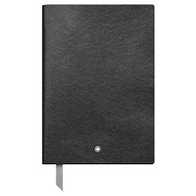 Montblanc Fine Stationery Notebook Black Blank
