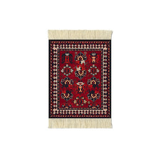 CoasterRug Set of 4 de Young Early Turkmen