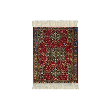 CoasterRug Set of 4 Star Ushak