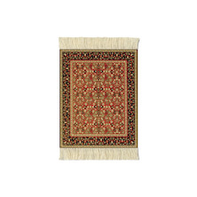 CoasterRug Set of 4 Mughal Lotus