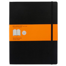 Moleskine Soft Cover Large Notebook 190x250 Black
