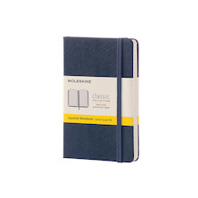 Moleskine Classic Collection Pocket Notebook 90x140 Sapphire Blue