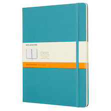 Moleskine Classic Collection Extra Large Notebook 190x250 Reef Blue