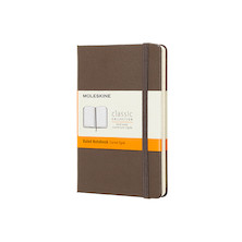 Moleskine Classic Collection Pocket Notebook 90x140 Earth Brown